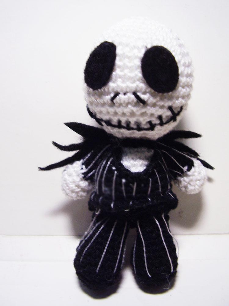 Jack Skellington Amigurumi - Free Crochet Pattern / crochet ideas ... | 1000x750