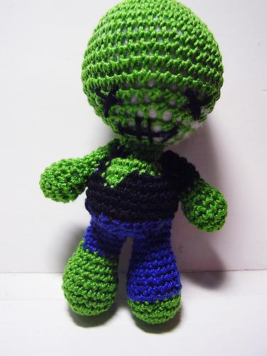 Amigurumi Patterns K And J Dolls Blog : Zombie Crochet Doll by Nissie on DeviantArt
