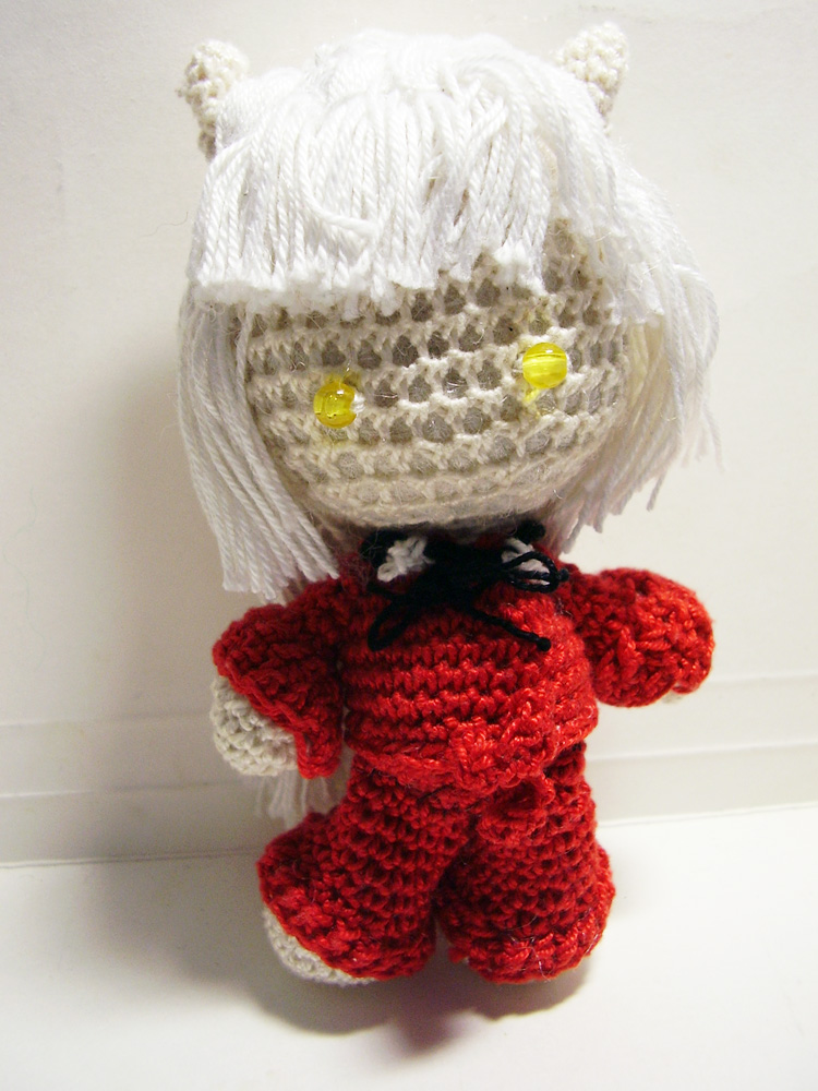 Inu Yasha Crochet Doll by Nissie