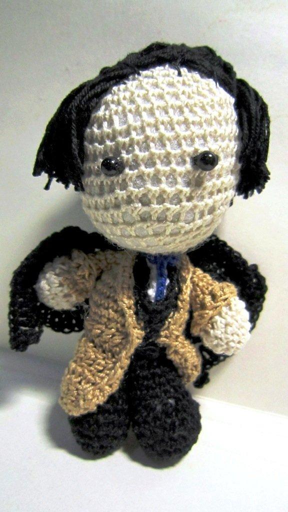 Supernatural: Castiel Doll by Nissie