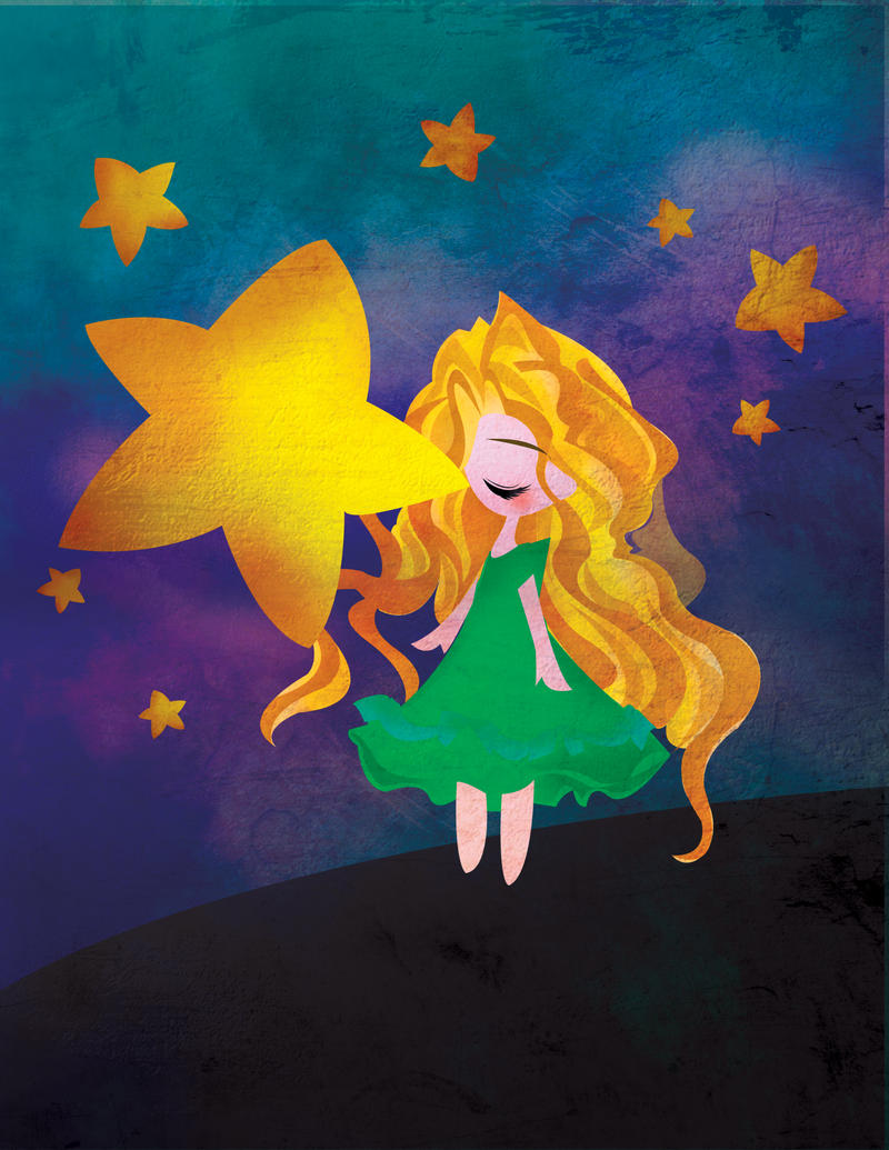 Stars Lean Down to Kiss You by Nissie