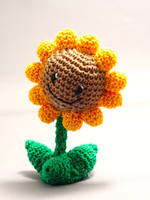 Plants vs. Zombies: Sunflower by Nissie