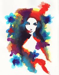 Flower Girl by Nissie
