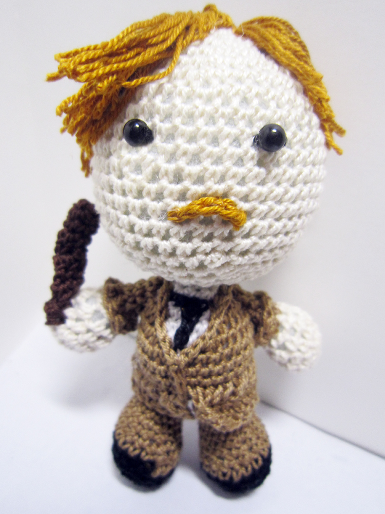 Harry Potter Amigurumi Crochet Patterns : Harry Potter - Remus Lupin by Nissie on DeviantArt