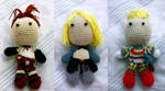 Vagrant Story Crochet Dolls