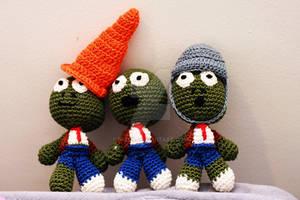 Plants versus Zombies dolls