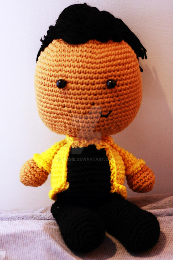 Bruno Mars Doll by Nissie