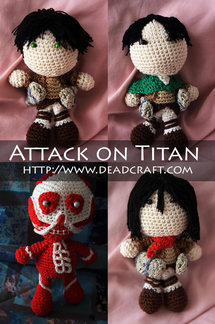 Attack on Titan Dolls by Nissie