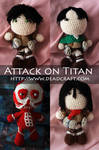 Attack on Titan Dolls