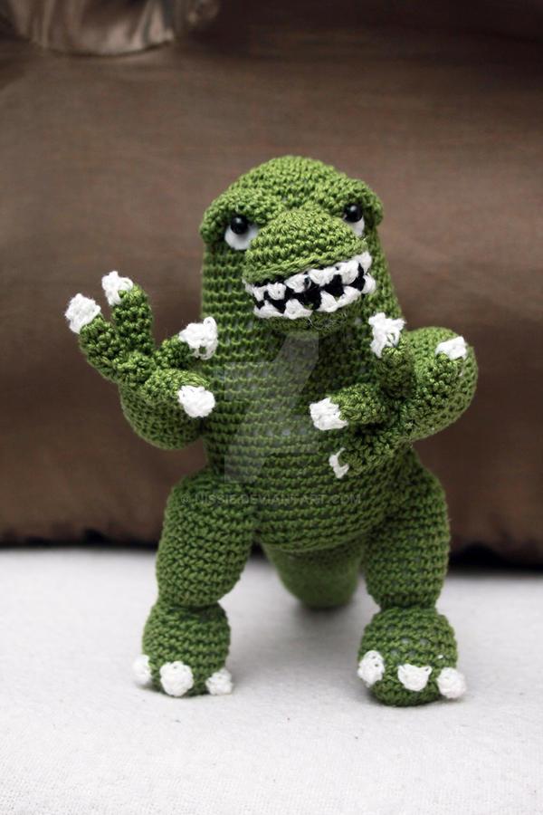 Godzilla Doll by Nissie