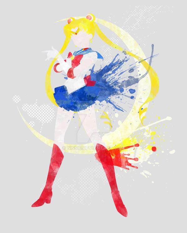 Sailormoon Art Print by Nissie