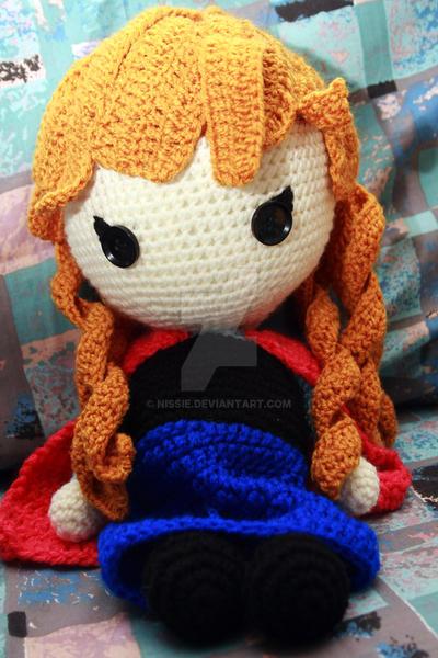 Frozen: Anna Crochet Doll by Nissie