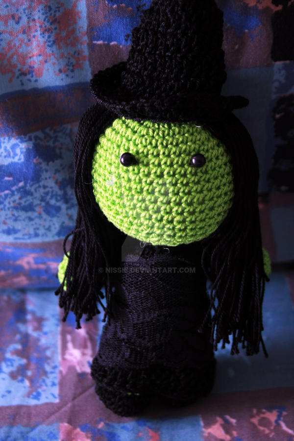 Wicked: Elphaba Doll by Nissie
