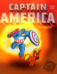 Captain Firebrand Fan-Fic Cover Commission