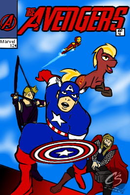 Captain Firebrand Fanfic Cover 2 [Commission]
