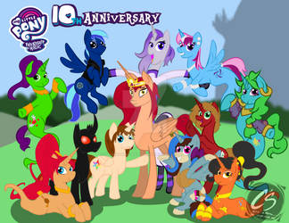 MLP 10th Anniversary Picture (Friends)