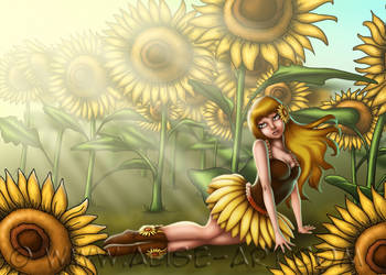 Sunflower Girl - Calantha