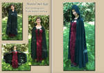 CLOAK with HOOD DARK GREEN