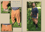 VIKING TROUSERS MEDIUM BROWN