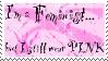 True Feminists Wear Pink by PhantomsAngelS2