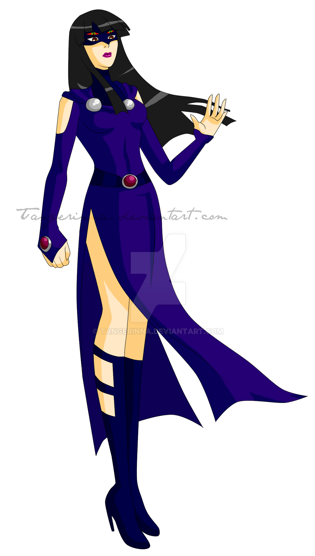 Young Justice: Raven b...
