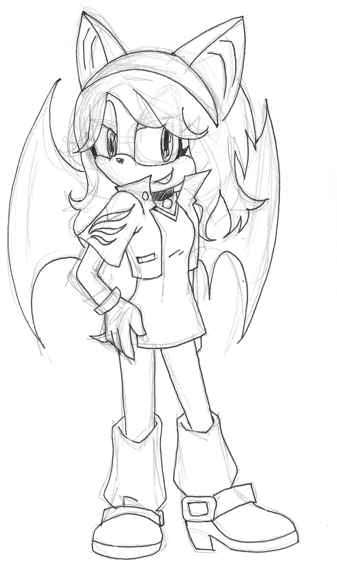 OC Tangerinna the Bat by Tangerinna