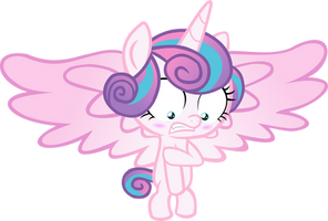 Naked Flurry Heart by red4567-2