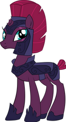 Tempest Shadow as a Royal Guard by red4567-2