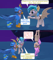 [SFM] Nightmare Night at the Friendship School by red4567-2