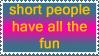 Short People Stamp by KippyTheGreat