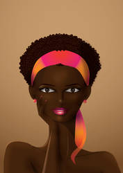 beauty of dark skin by YasSmash