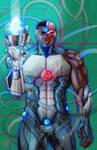 Cyborg by YasSmash