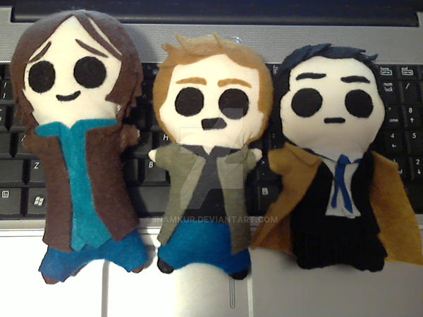 Team Free Will Dolls by Inamkur