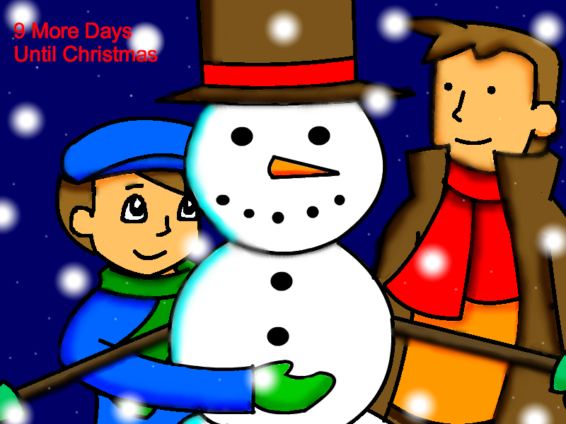 9 More Days Until Christmas 2011 by still-a-fan on DeviantArt