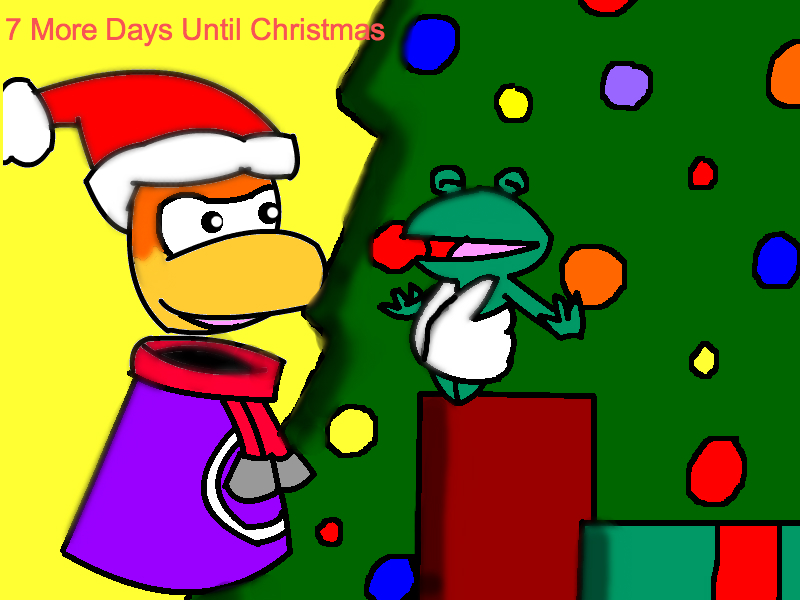 7 More Days Until Christmas 2011 by still-a-fan on DeviantArt
