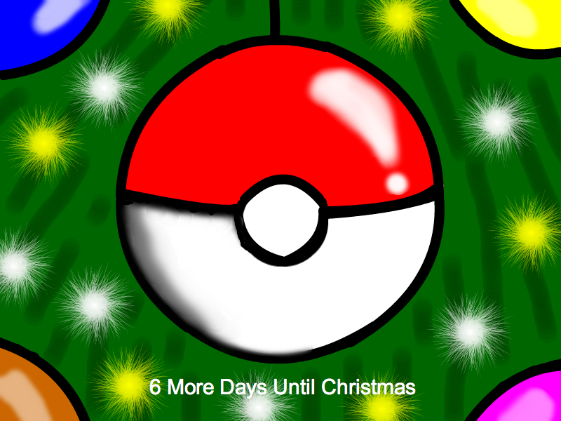 6 More Days Until Christmas 2011 by still-a-fan on DeviantArt