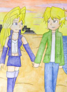 Joey and Mai