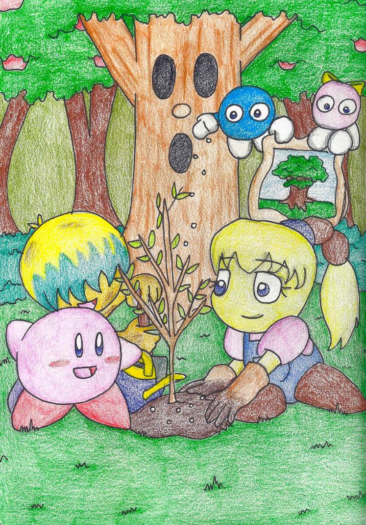Helping Whispy Woods by still-a-fan