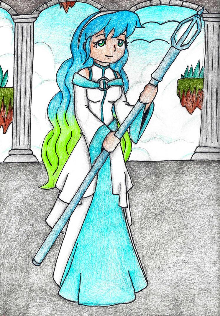 The Sky Sorceress by still-a-fan