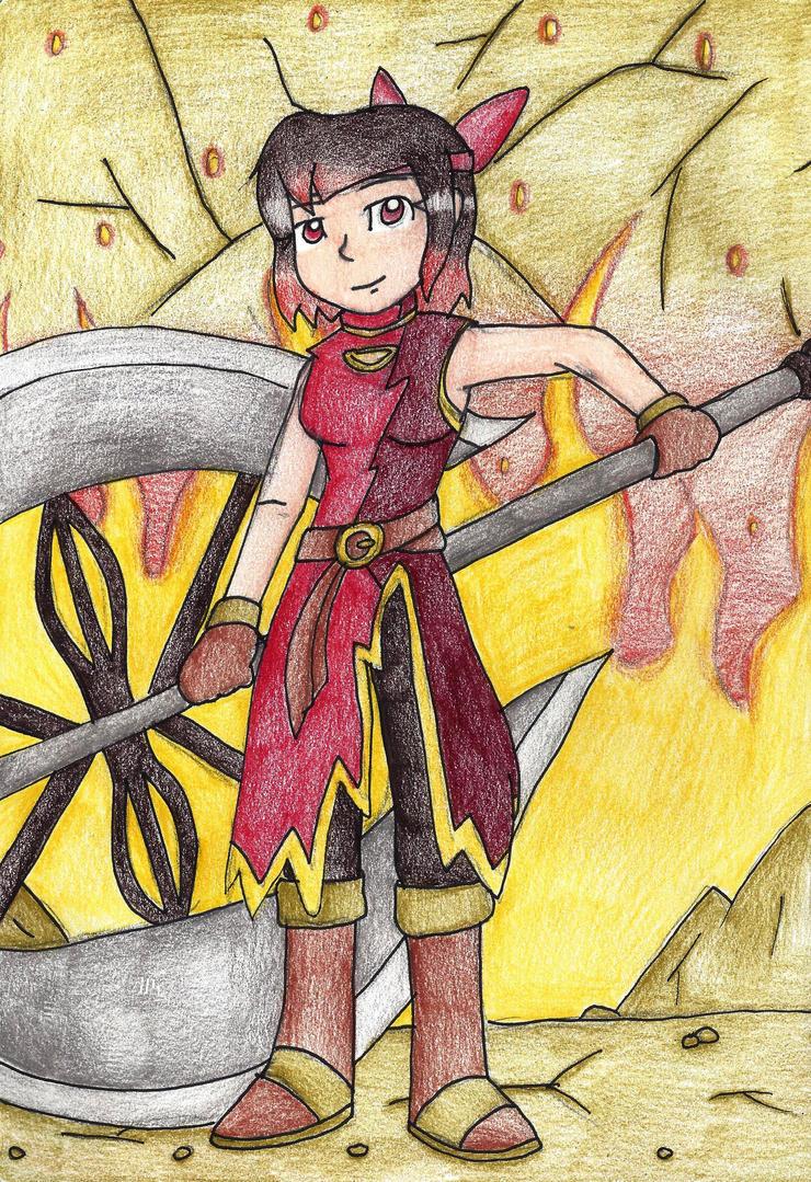 Battling with Flames by still-a-fan