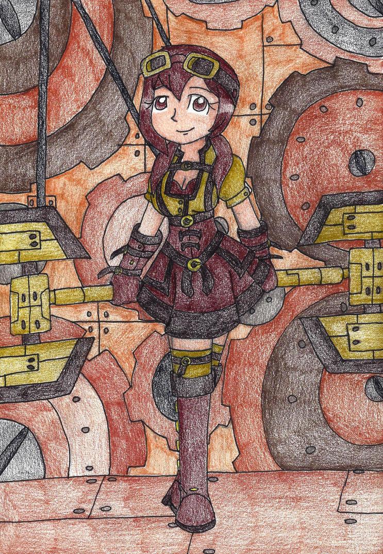 Steampunk Dreamer by still-a-fan