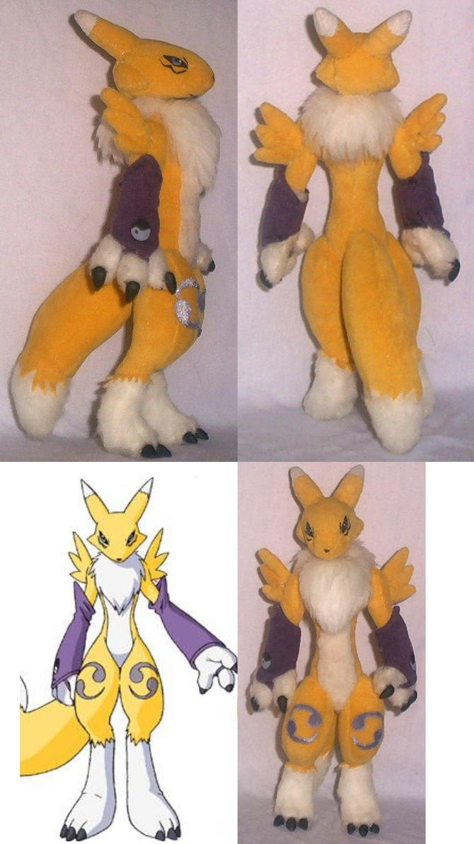 Renamon Plush by YutakaYumi by renamon-fan-club