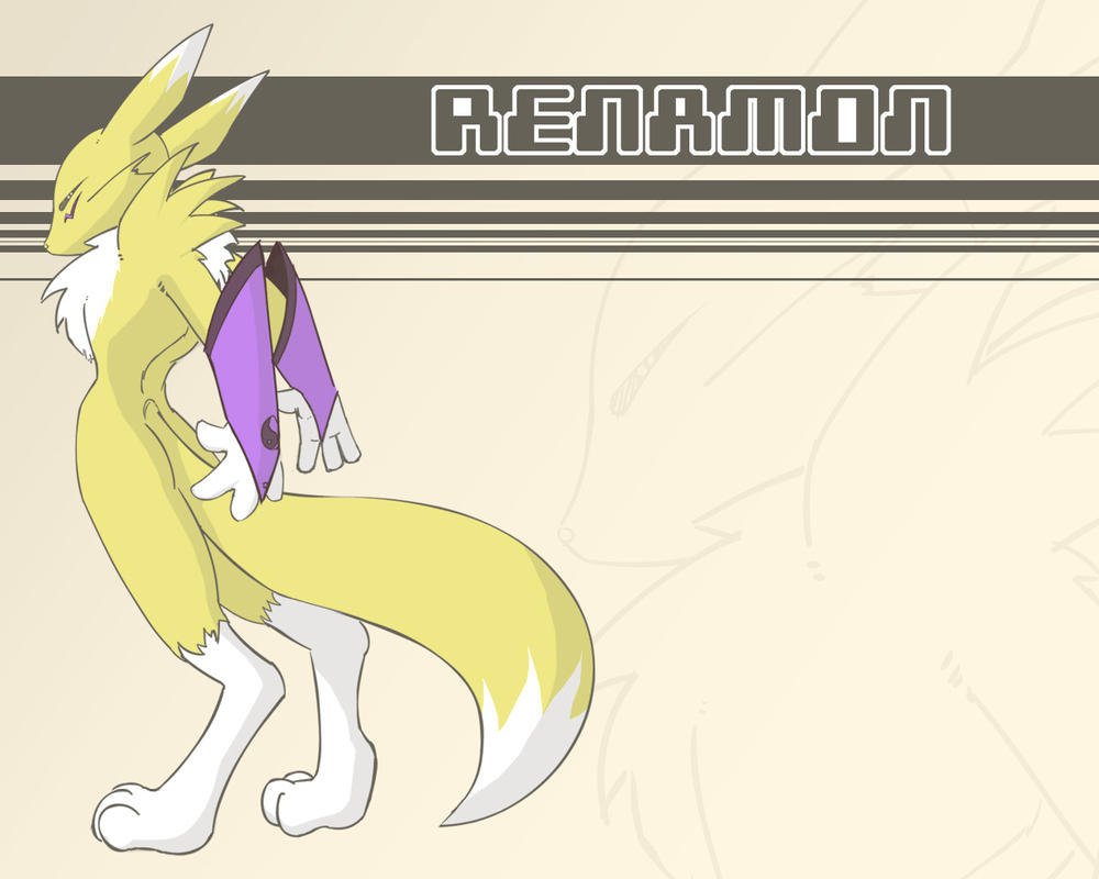 Renamon Wallpaper by Mylehyena by renamon-fan-club