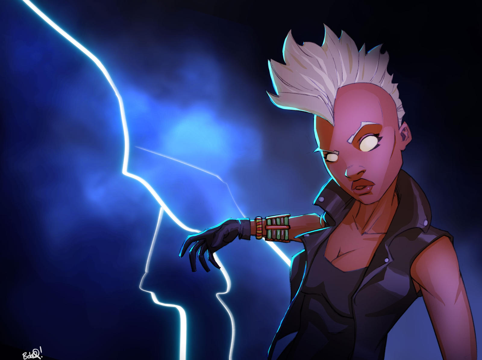 Storm The Mohawk Years By PandaFace