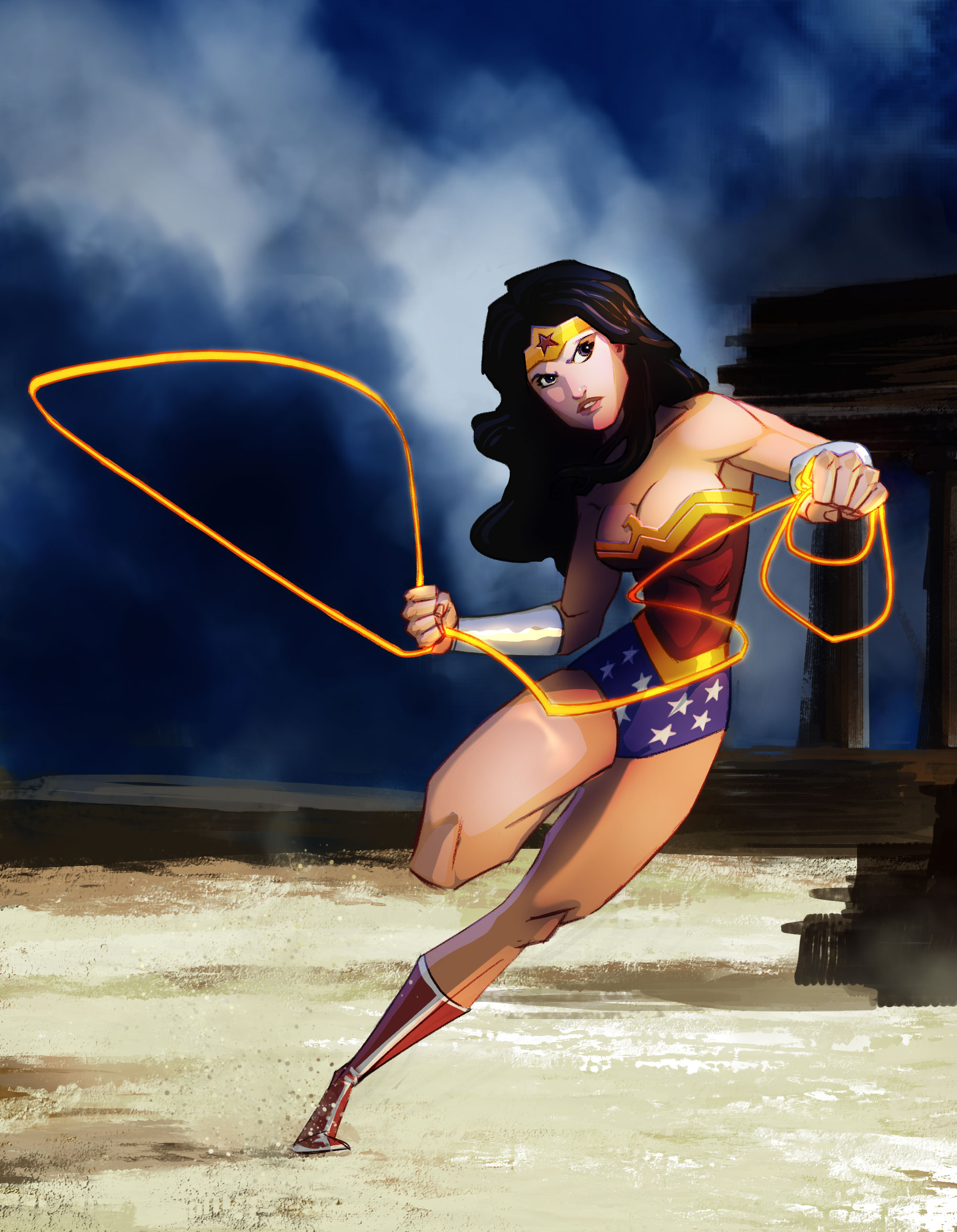 Wonder Woman!! by PandaFace