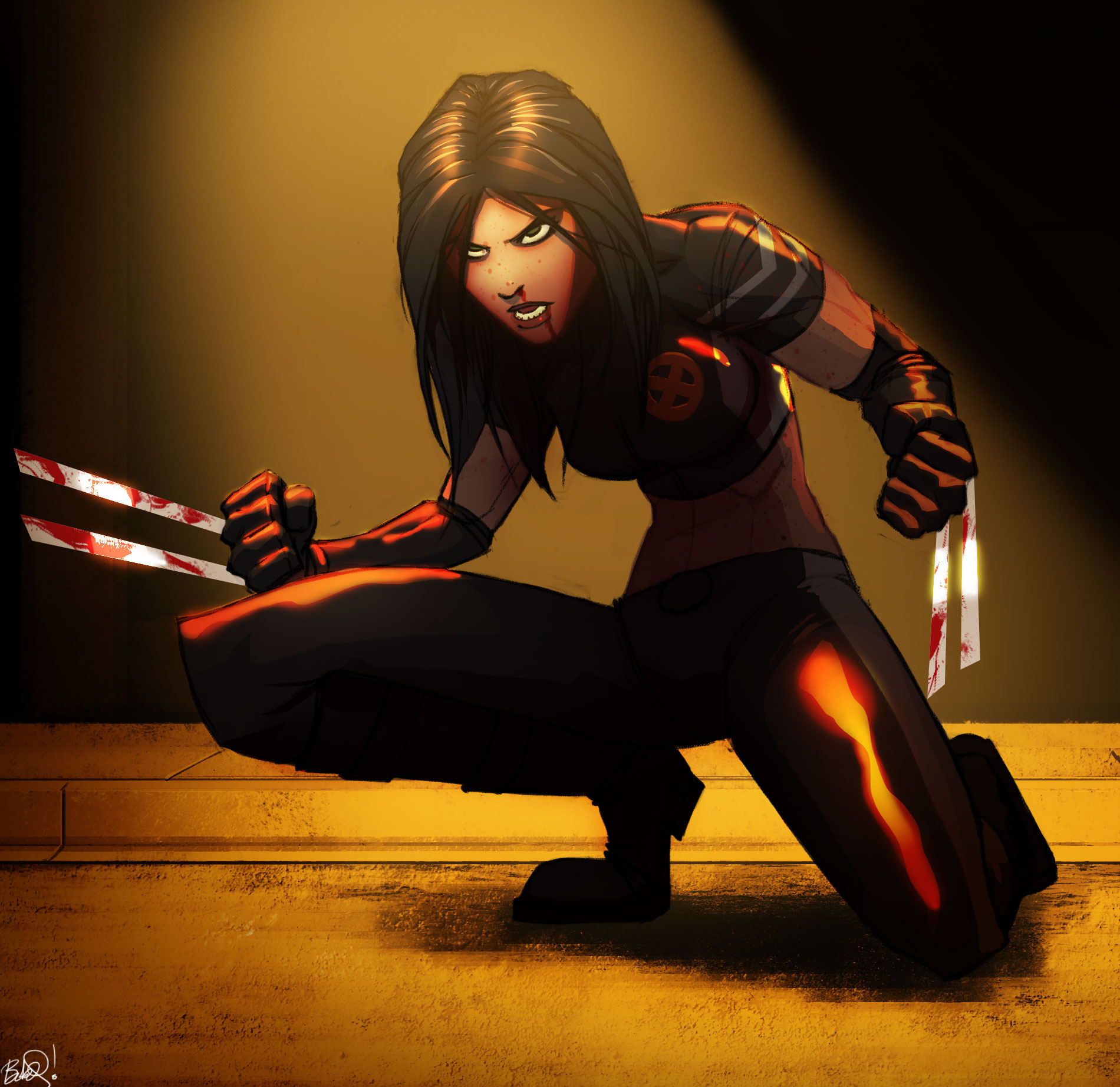 X23 by PandaFace on DeviantArt X 23