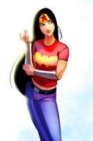 Wonder Woman by PandaFace