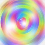 swirls of neon