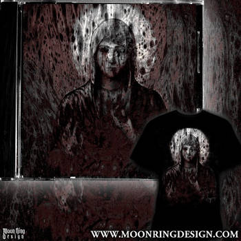 Dark Metal Front Album Cover Artwork Available by MOONRINGDESIGN