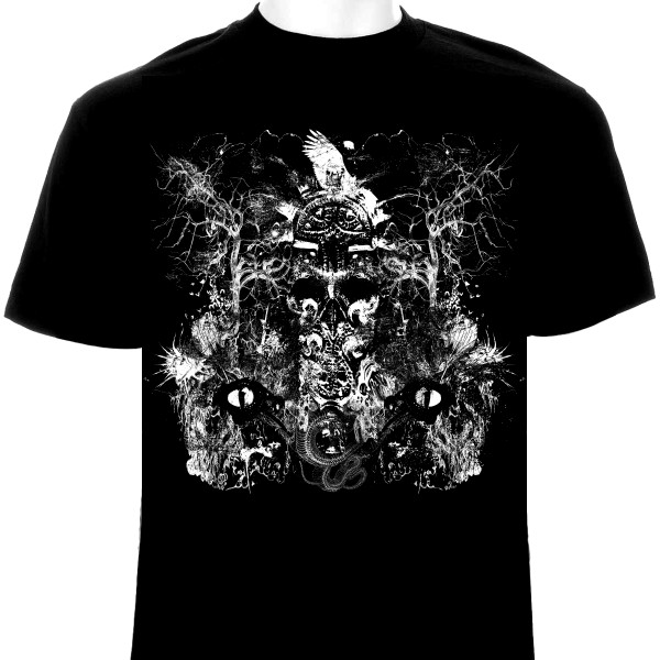 Extreme Metal T Shirt Design For Sale 1 Color By